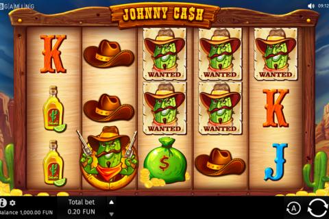 johnny cash bgaming