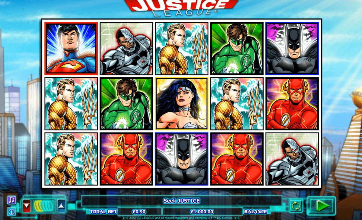 justice league netgen gaming