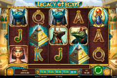 legacy of egypt playn go
