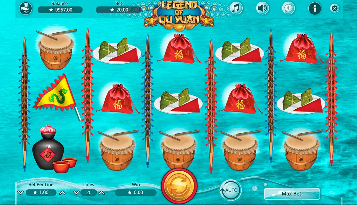 legend of qu yuan booming games
