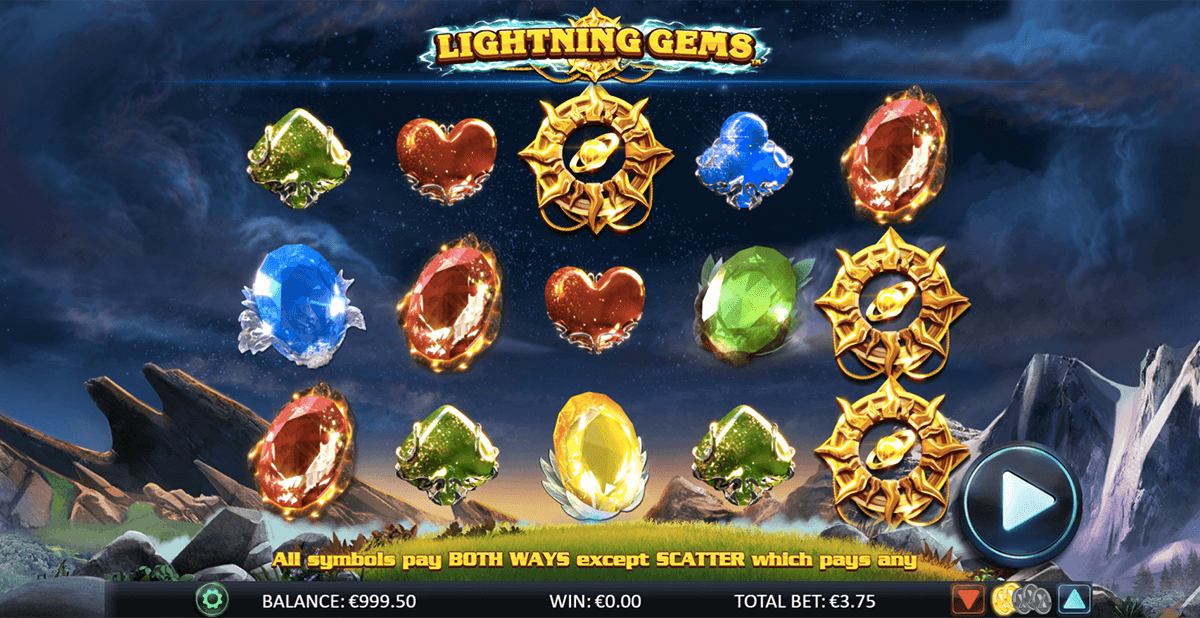lightning gems netgen gaming