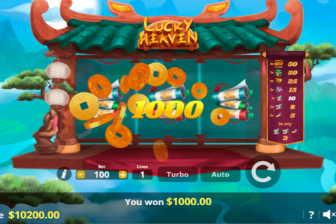 lucky heaven lady luck games