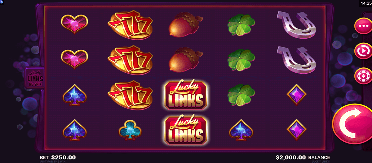 lucky links microgaming