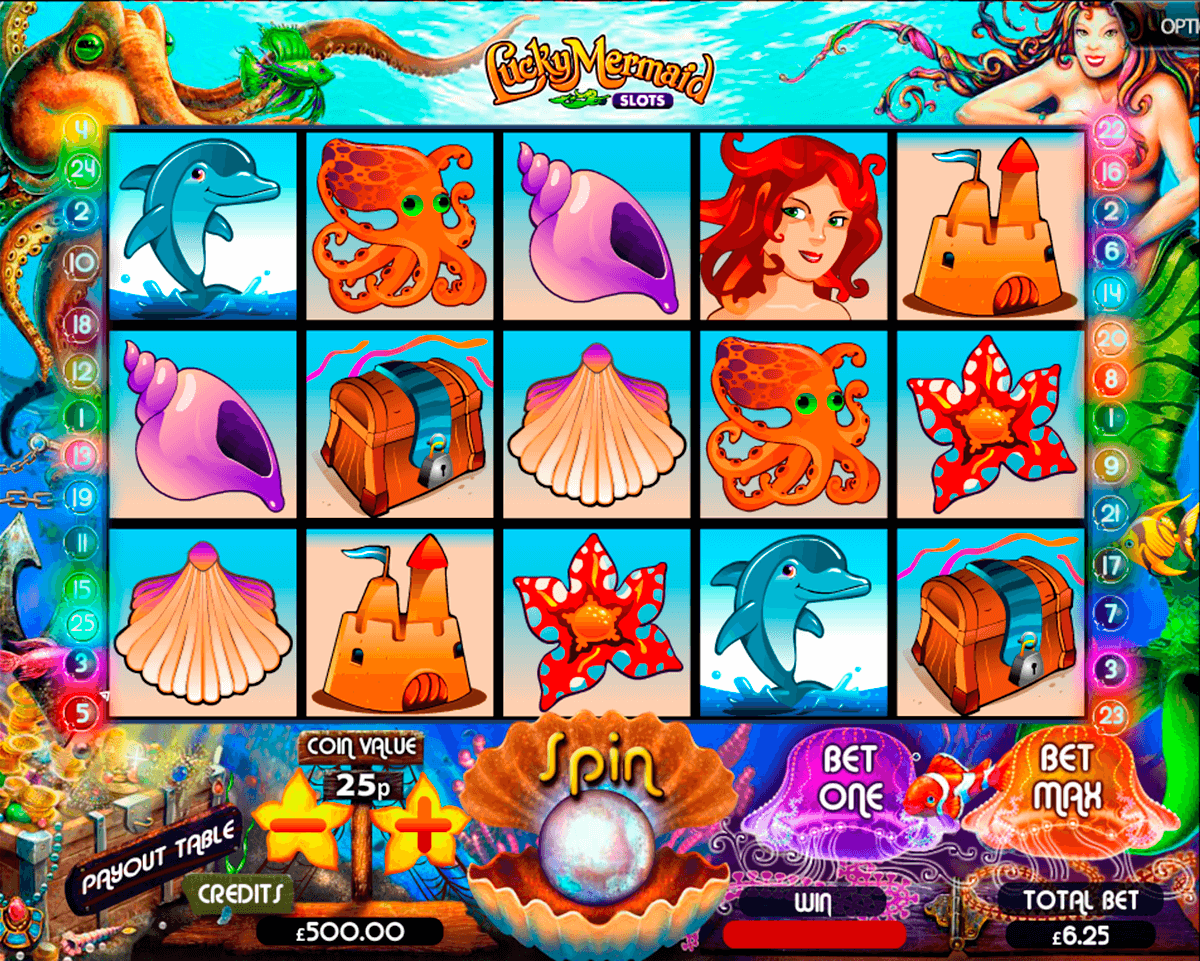 lucky mermaid slots multislot