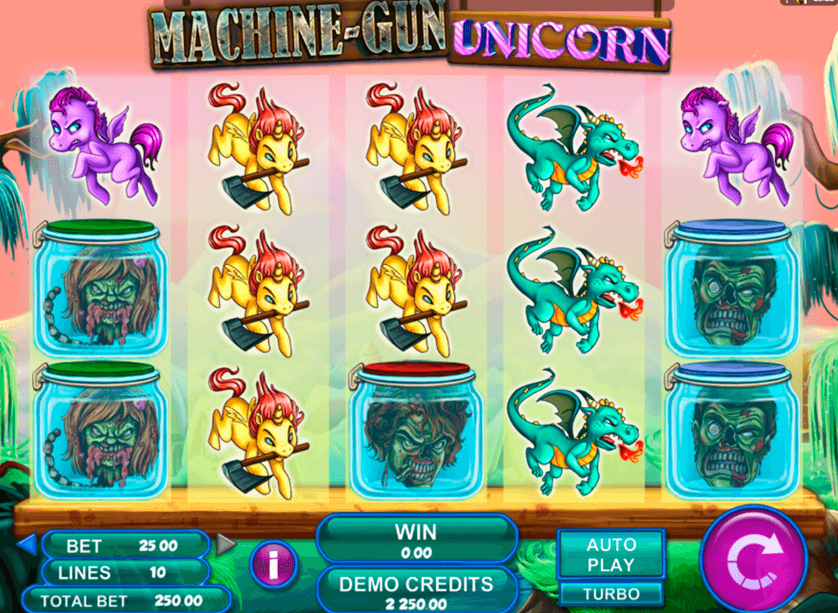 machine gun unicorn genesis