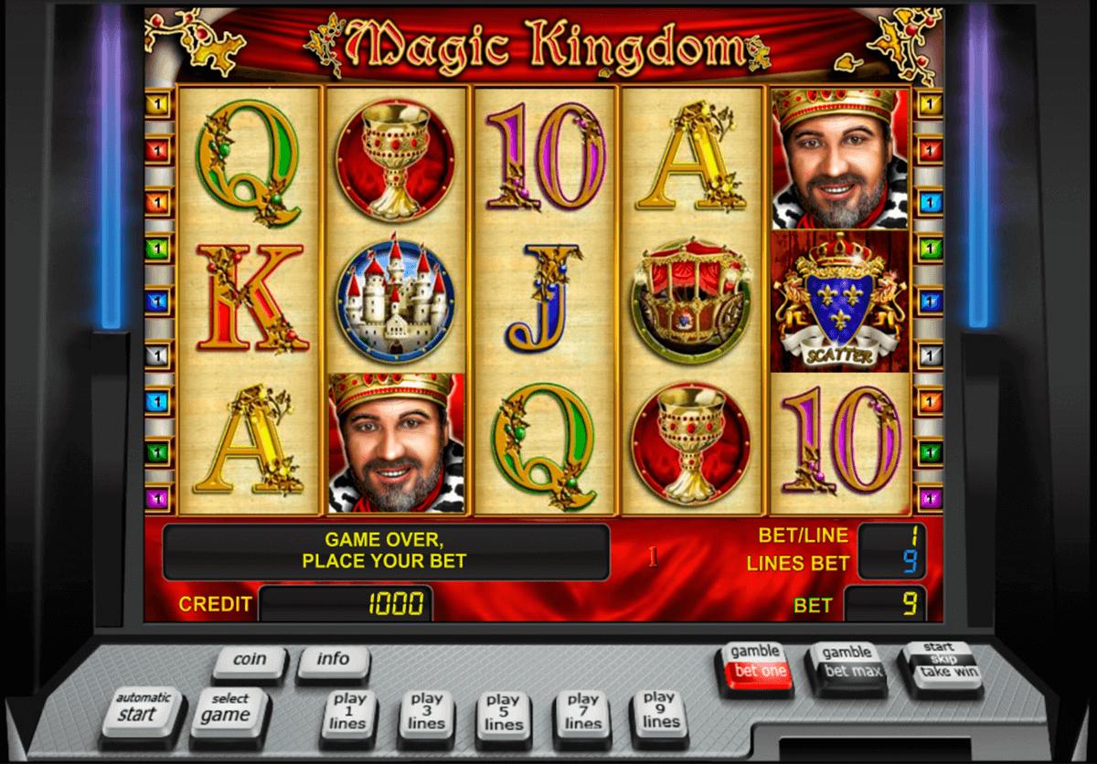 magic kingdom novomatic