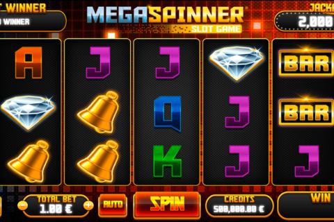 mega spinner slot gaming