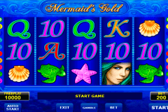 mermaids gold amatic