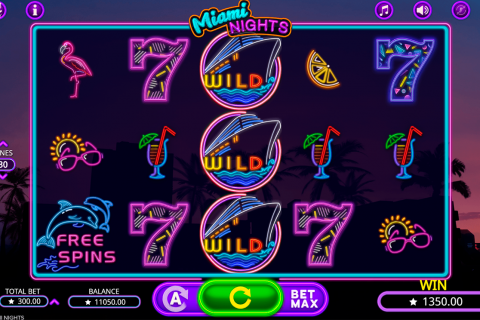 miami nights booming games