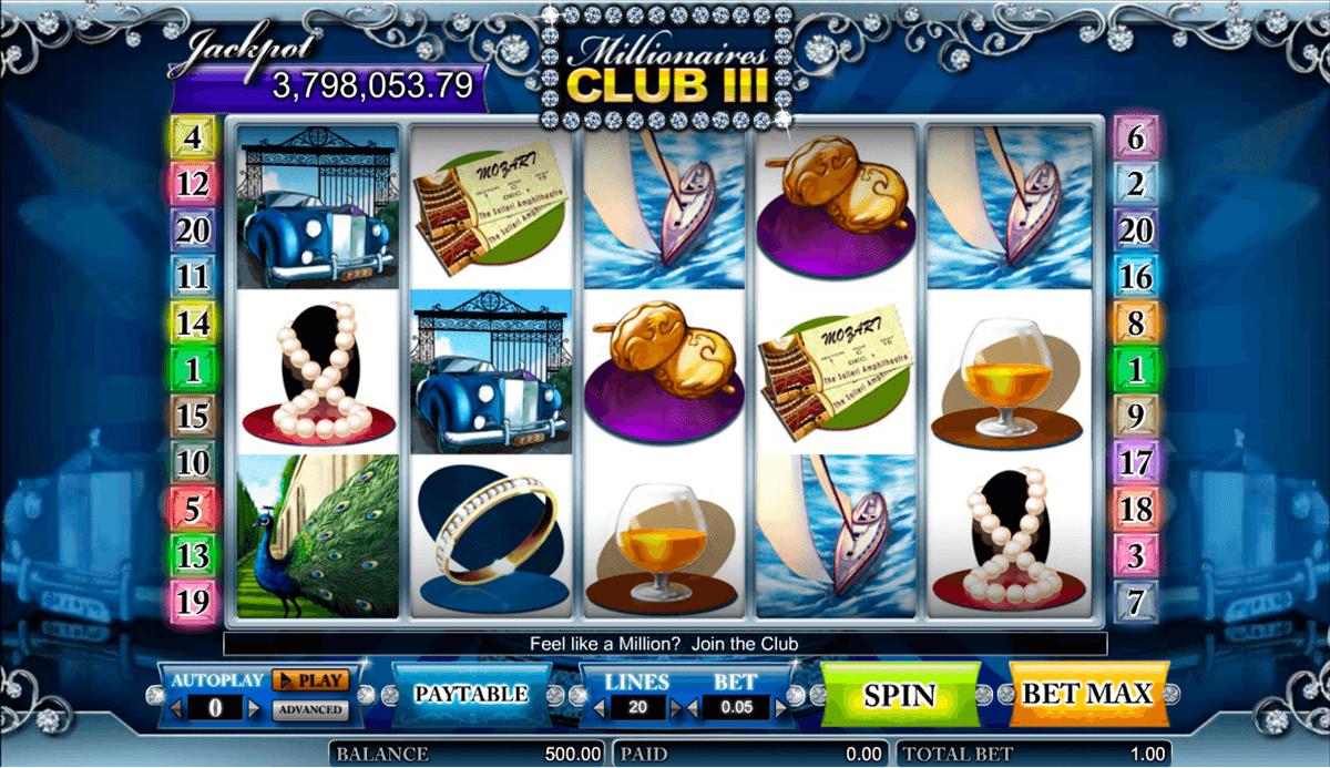millionaires club iii amaya