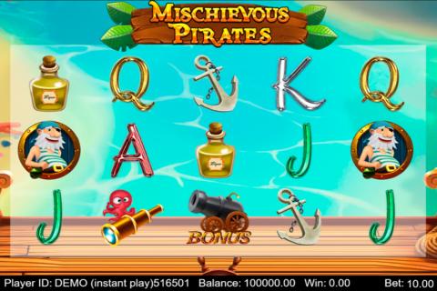 mischievous pirates triple profits games