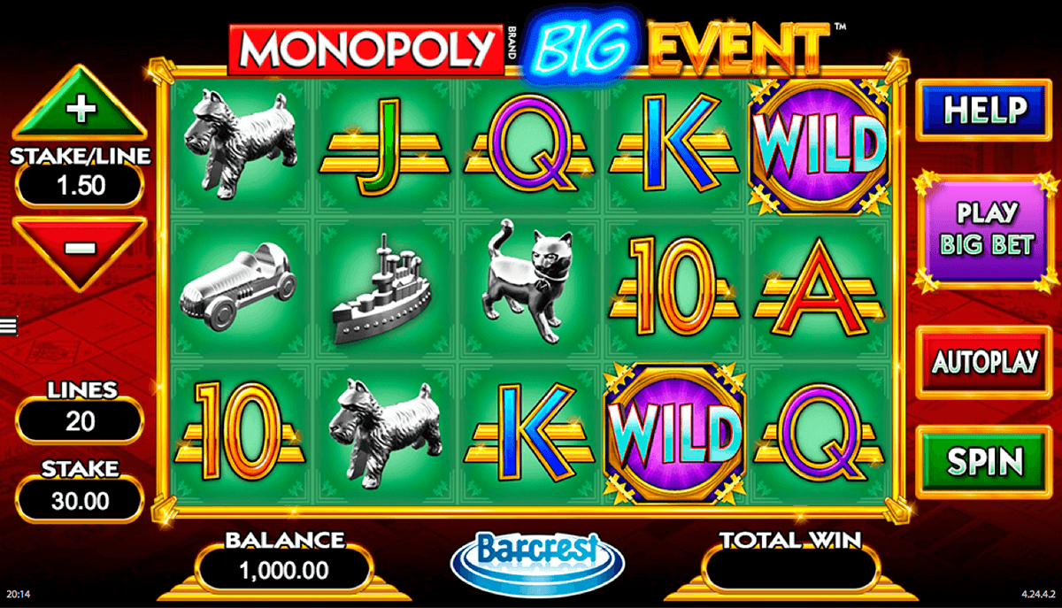 monopoly big event wms