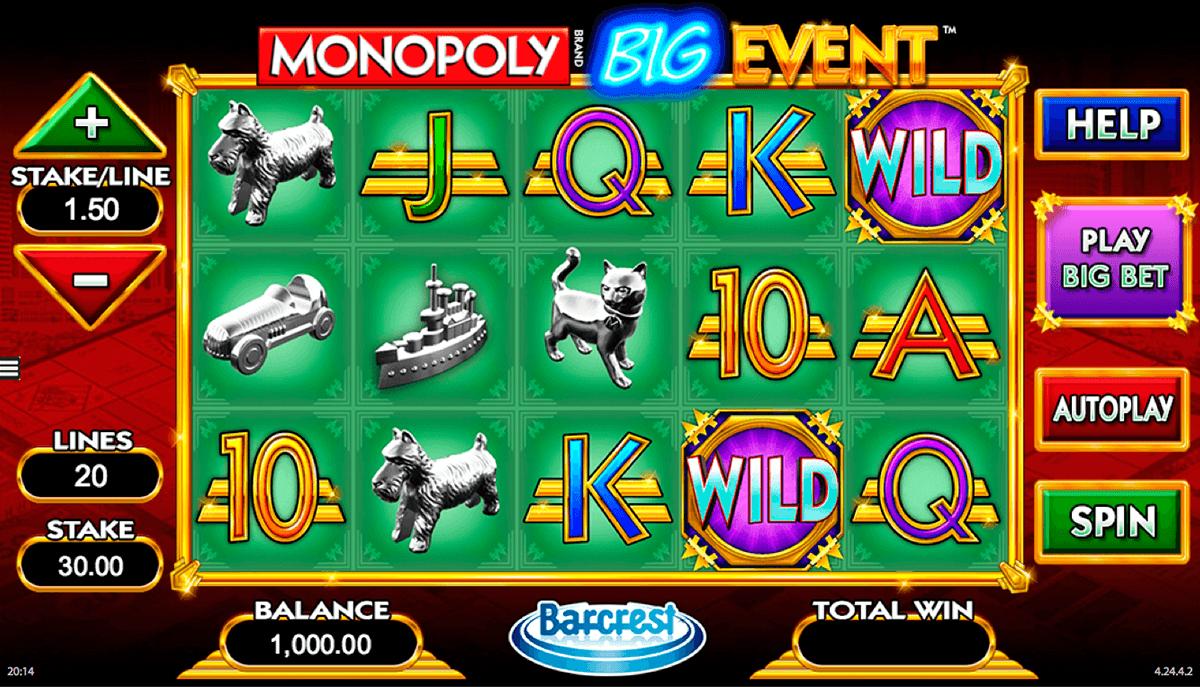 monopoly big event wms