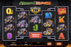 monster wheels microgaming