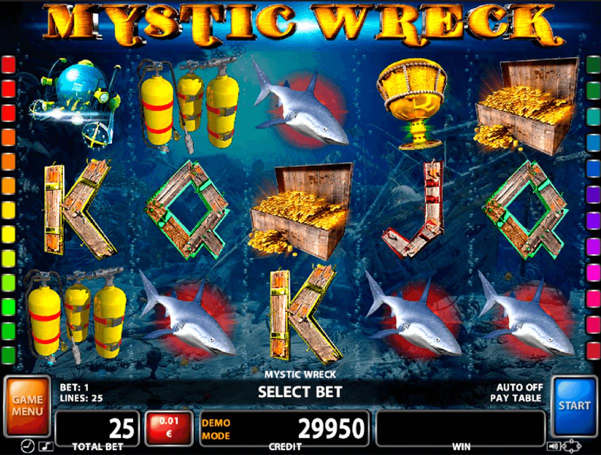 mystic wreck casino technology