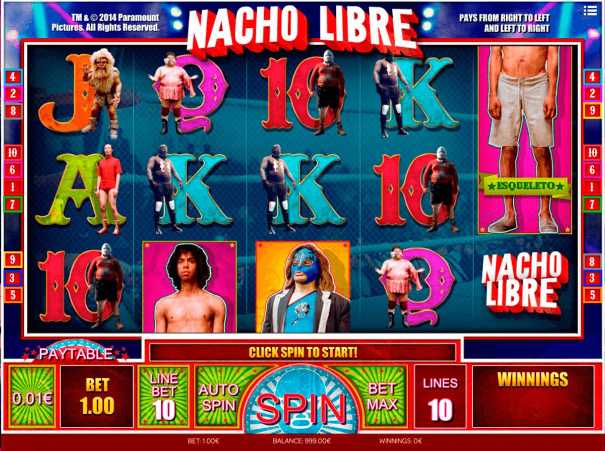 nacho libre isoftbet