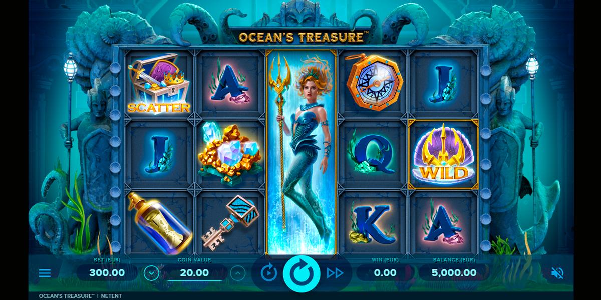 oceans treasure netent