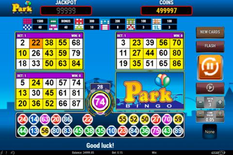 park bingo playn go