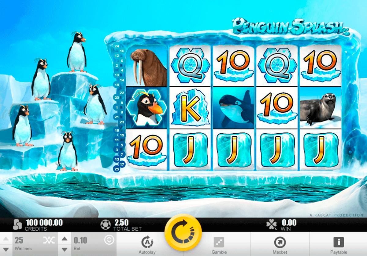 penguin splash rabcat