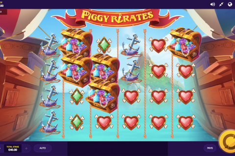 piggy pirates red tiger