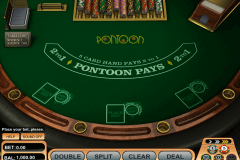 pontoon blackjack betsoft
