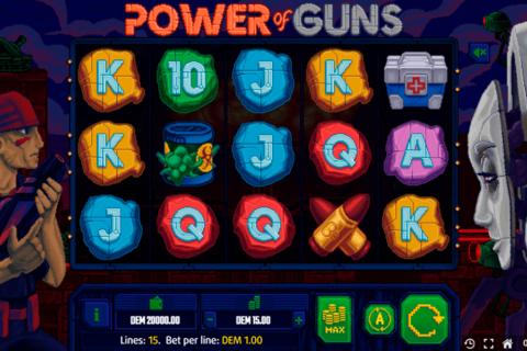 power of guns mancala gaming