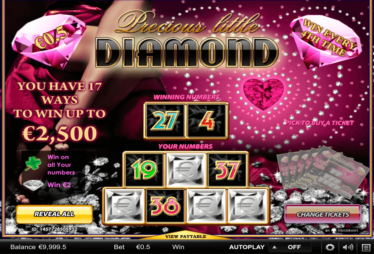 precious little diamonds yggdrasil