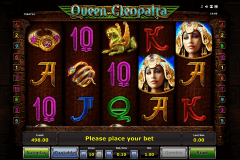queen cleopatra novomatic