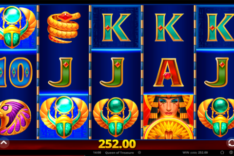 queen of treasure gong gaming technologies