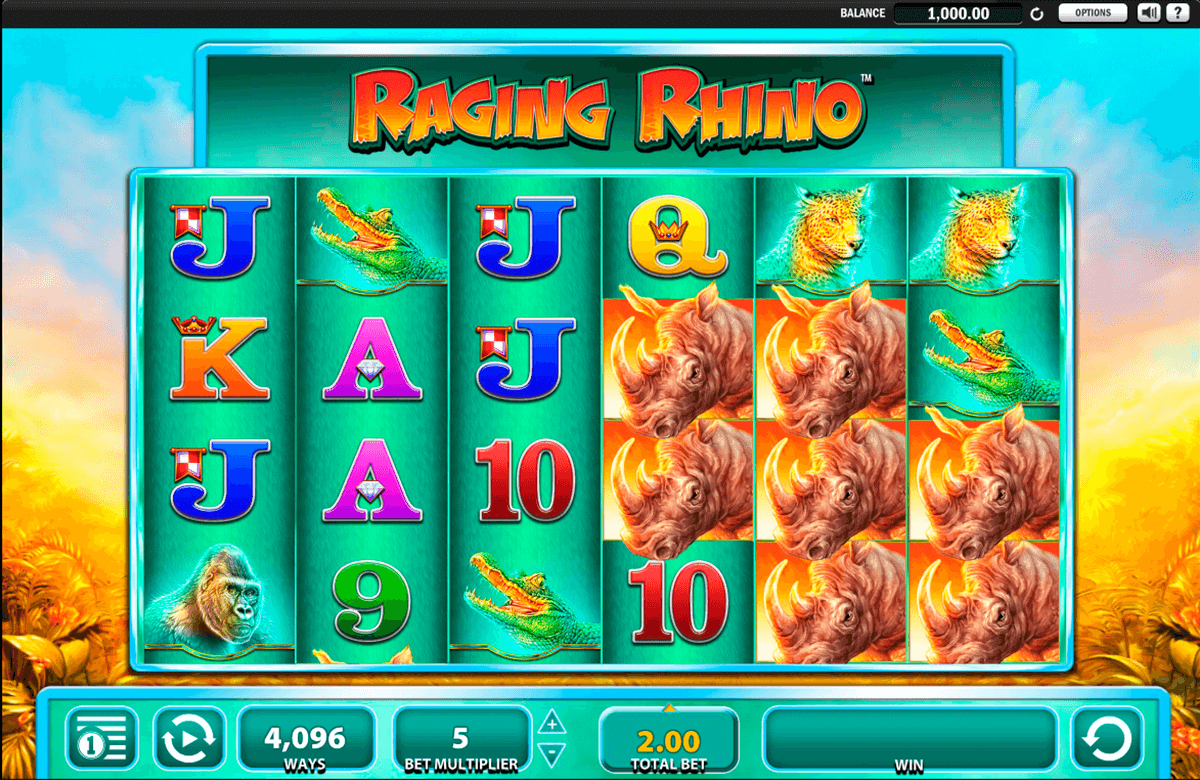 raging rhino wms