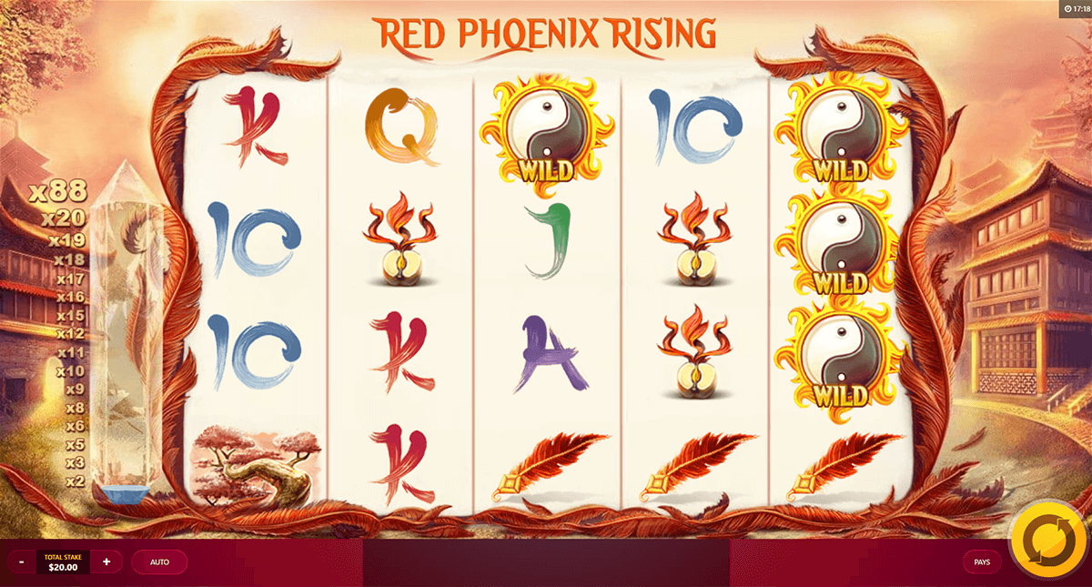 red phoeni rising red tiger