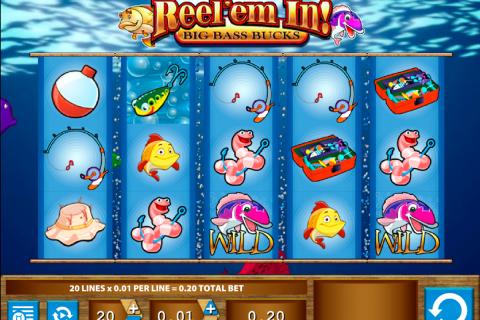 reelem in big bass bucks wms