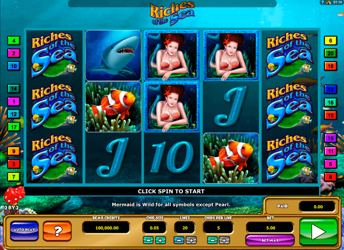 riches of the sea by gaming