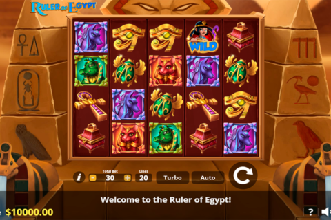 ruler of egypt lady luck games