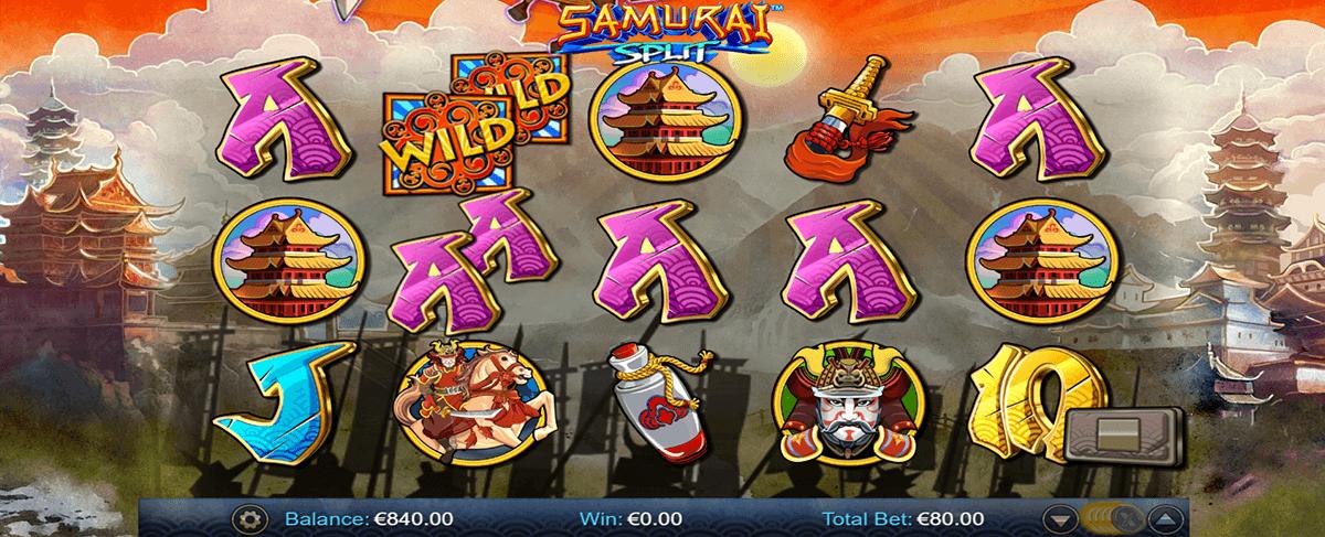samurai split netgen gaming