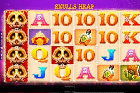 skulls heap gong gaming technologies