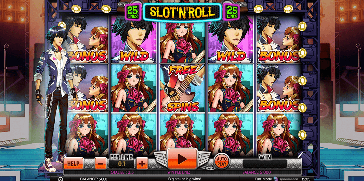 slot and roll spinomenal