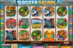 soccer safari microgaming