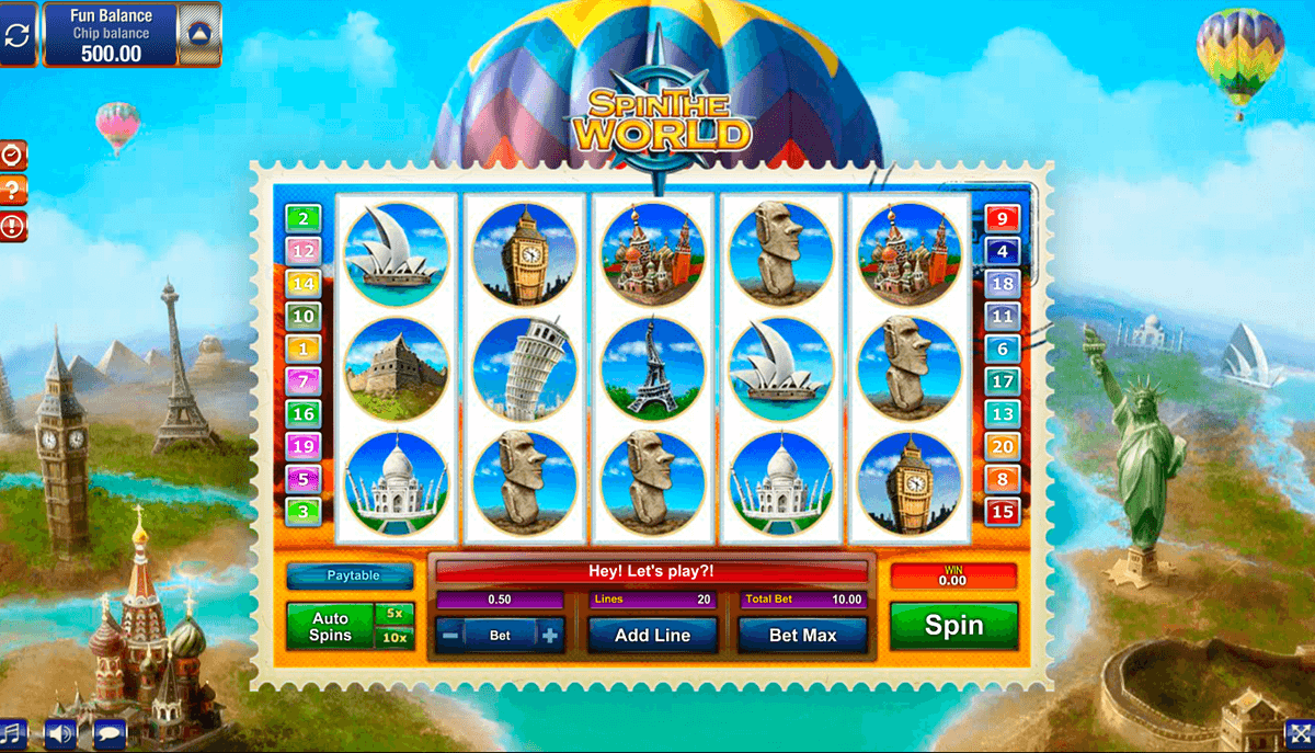 spin the world gamesos