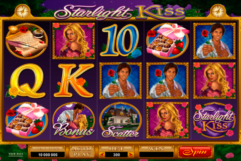 starlight kiss microgaming