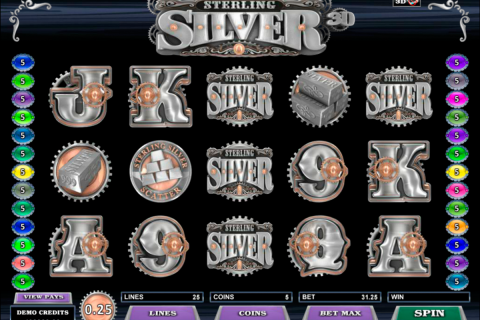 sterling silver d microgaming