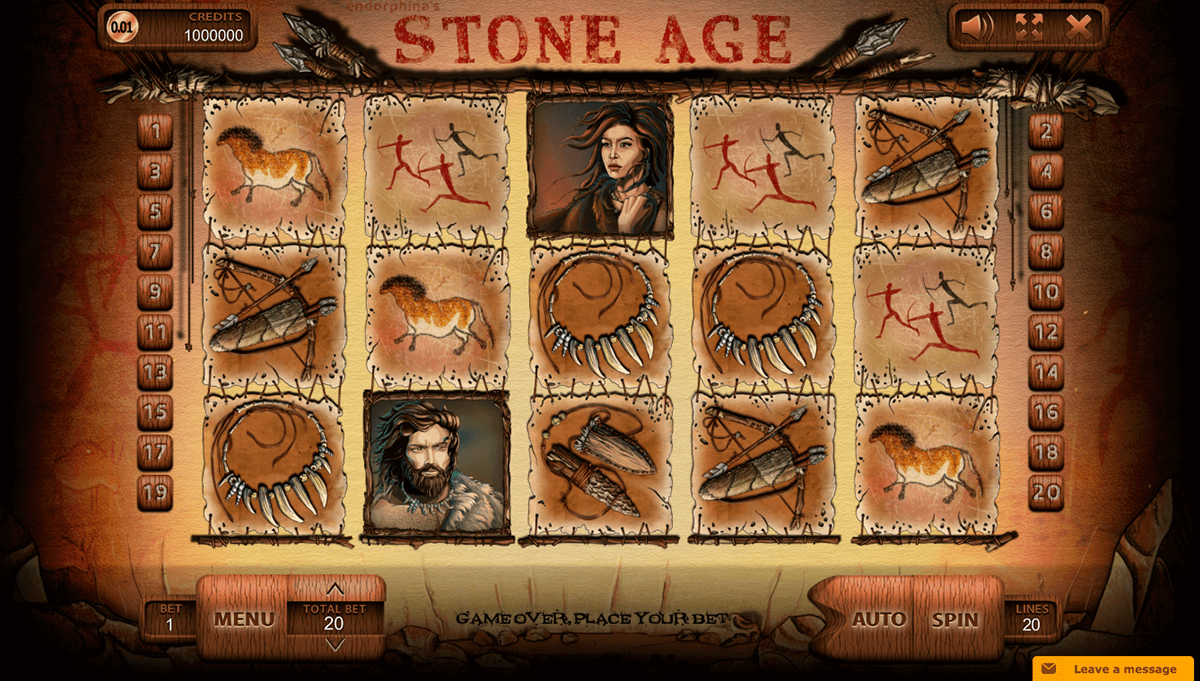 Spiele Stone Age (Endorphina) - Video Slots Online
