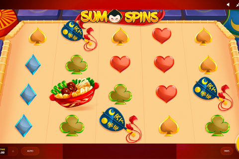 sumo spins red tiger