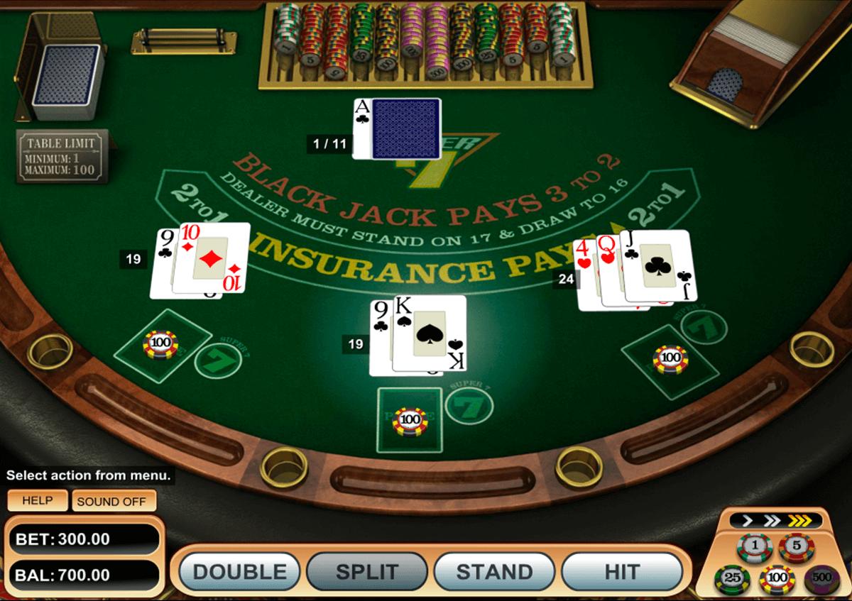 super  blackjack betsoft