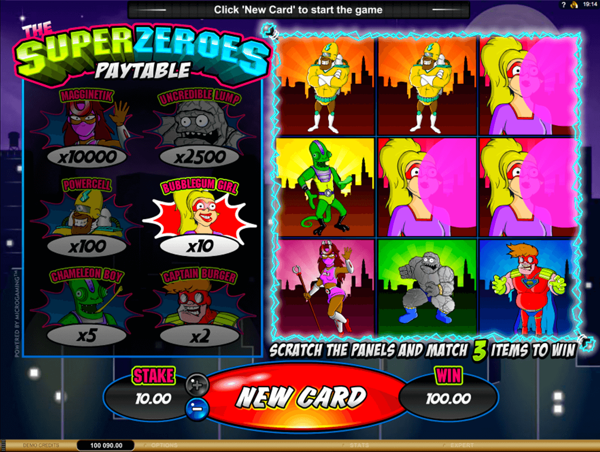 super zeroes microgaming