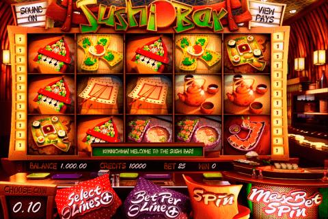 sushi bar betsoft