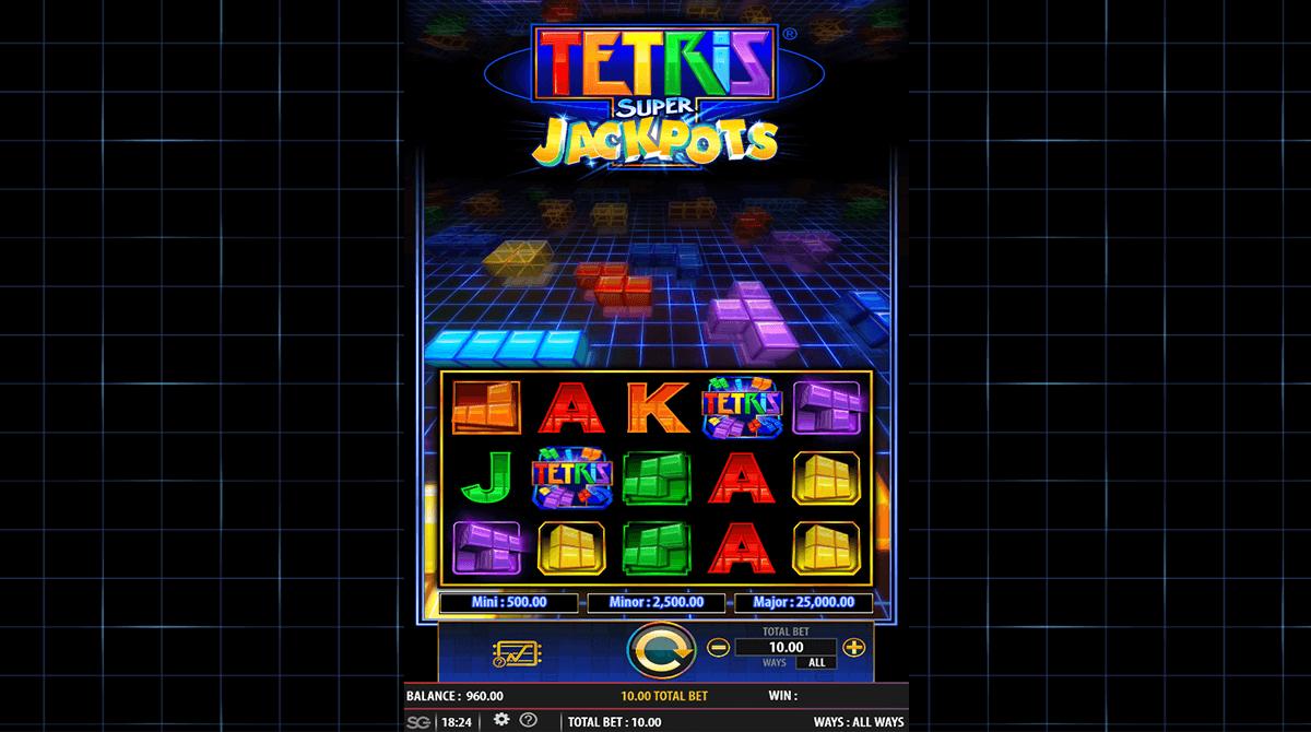 tetris super jackpots wms
