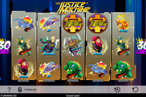 the justice machine gaming