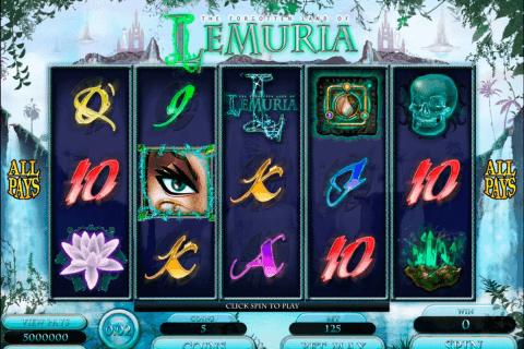 the land of lemuria microgaming