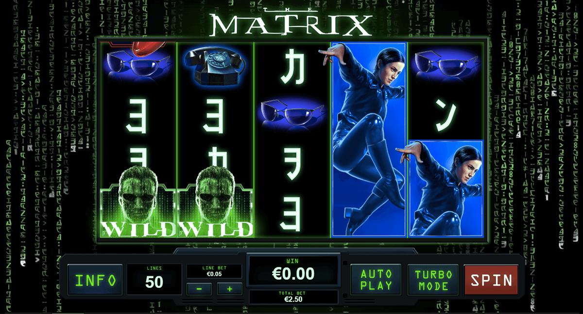 the matrix playtech